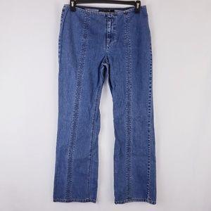 DKNY Women No Waistband Jeans Size 10